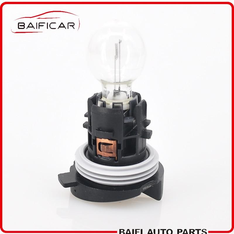 กรุณาชำระเงินด้วย CODBaificar Brand 1 Pcs Daytime Running Light Bulb With Base 6216F6 89072904 HP24W For Peugeot 3008 50