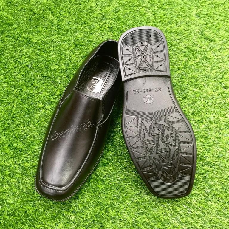 รองเท้าหนัง# รองเท้าคัชชูผู้ชายสีดำ 💥มีบริการเก็บปลายทาง💥 งานยาง/ทรงสวย/นุ่มเท้า