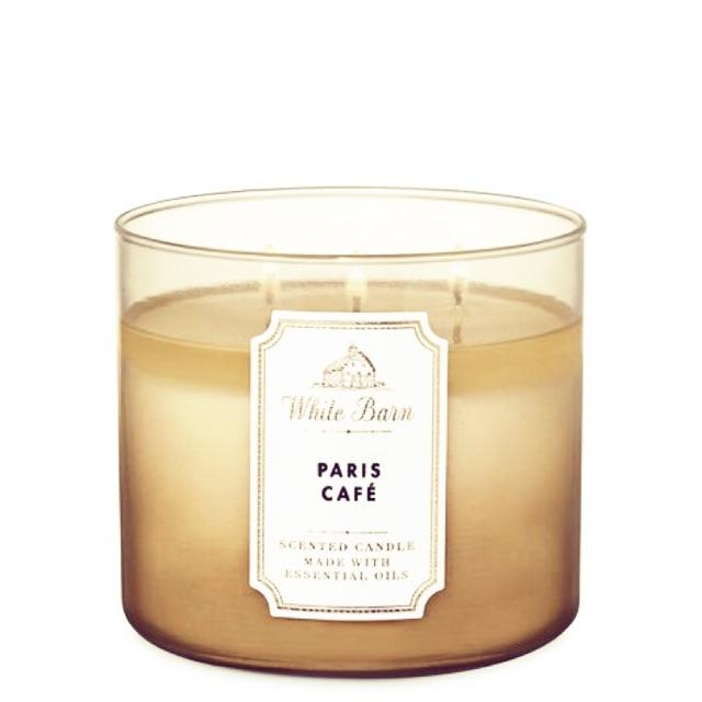 เทียนหอม Bath&BodyWorks กลิ่น Paris Cafe (กาแฟ)