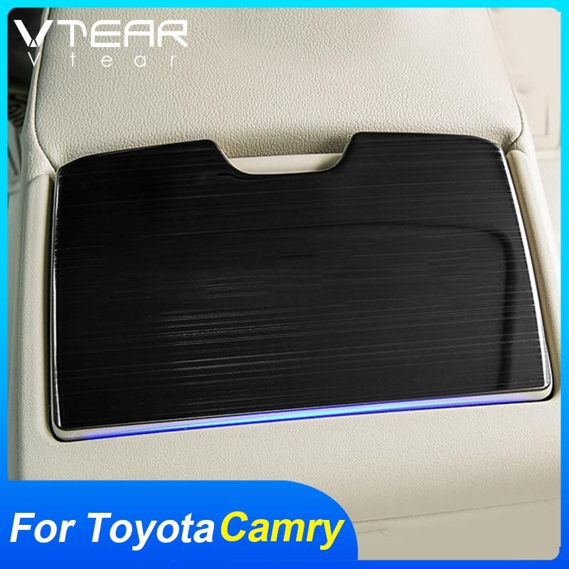Vtear อุปกรณ์ที่วางแก้วน้ําในรถยนต์ Toyota Camry 2018-2021