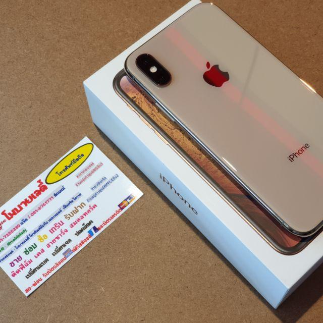 IPhone XS 64gb สีทอง เครื่องไทย มือสอง