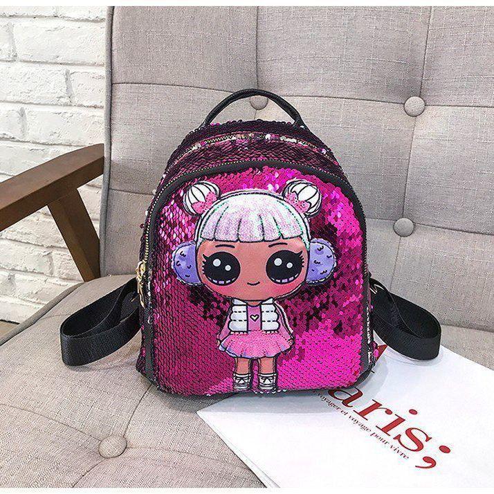 กระเป๋าเป้เด็กผู้หญิงกระเป๋าเด็กน่ารักเจ้าหญิงเป้เดินทาง