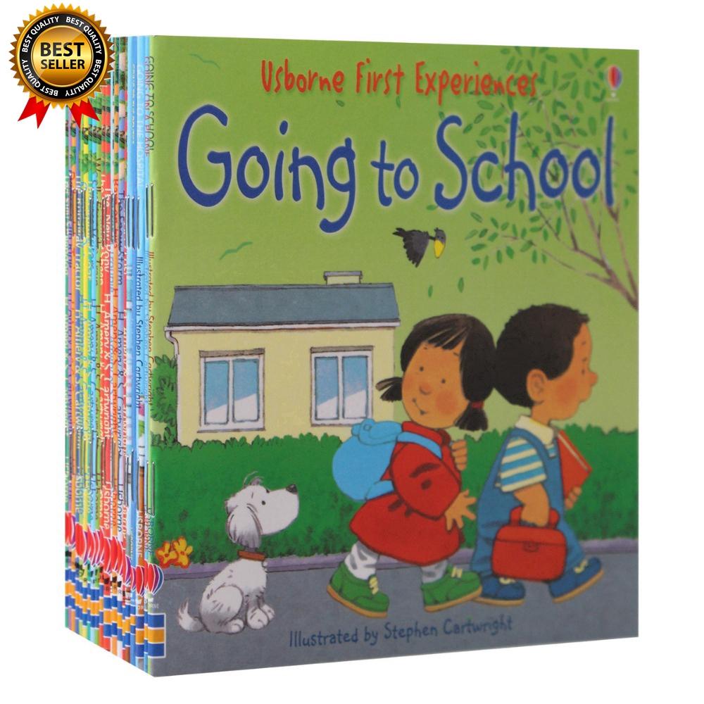 20 Books English Usborne Story Picture Books Farmyard Tales For Kids Children svci