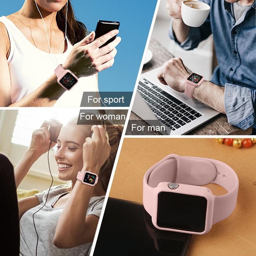 เคสนาฬิกาข้อมือ Apple Watch Band Iwatch Series 6 Se 5 4 3 2 1 38 42 44 40 มม .