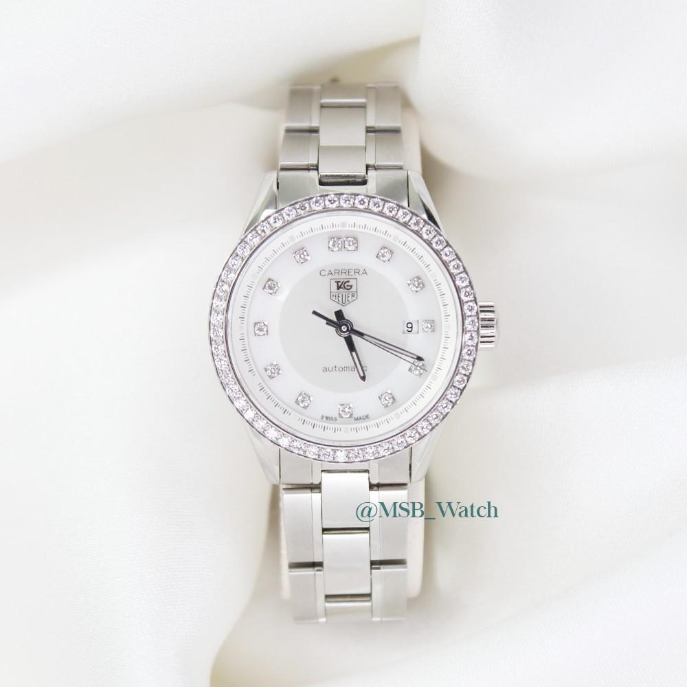 TAG HEUER CARRERA Lady WV2413 นาฬิกา มือ2 ของแท้💯