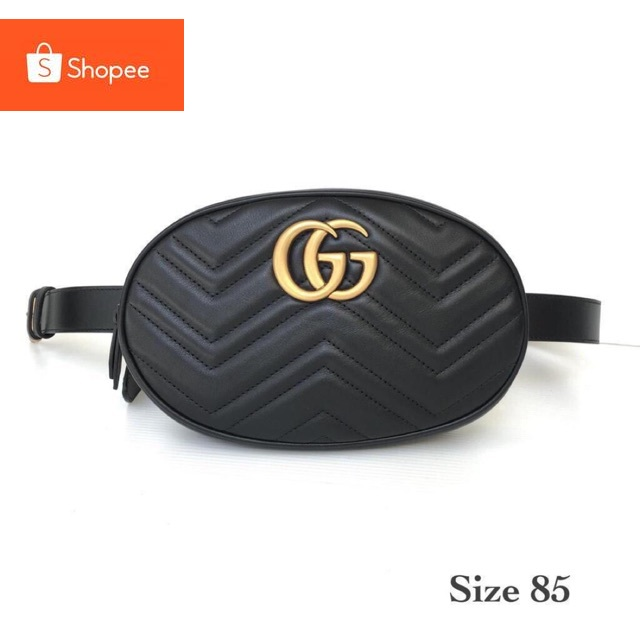 Gucci GG Belt Bagการซื้อทั่วโลก✨Gucci GG Belt Bag
