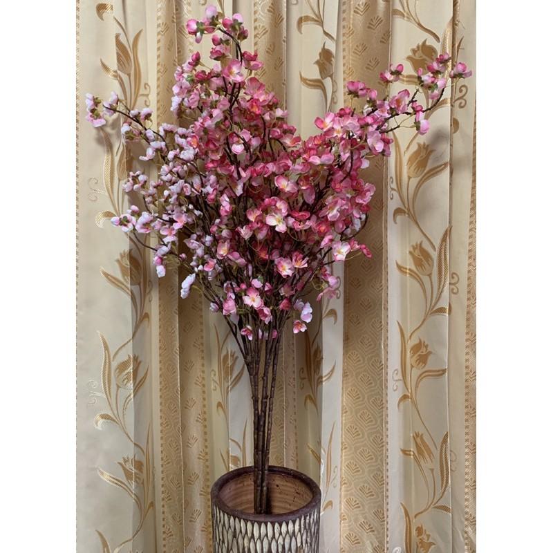 ต้นดอกซากุระ ดอกไม้ปลอม ดอกไม้พลาสติก ดอกไม้ประดิษฐ์
