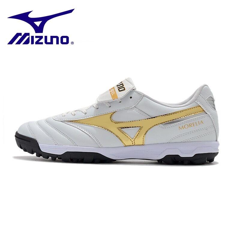 Mizuno ผิวหนังจิงโจ้ MORELIA  II PRO  TF/ASเล็บสั้นรองเท้าฟุตบอล