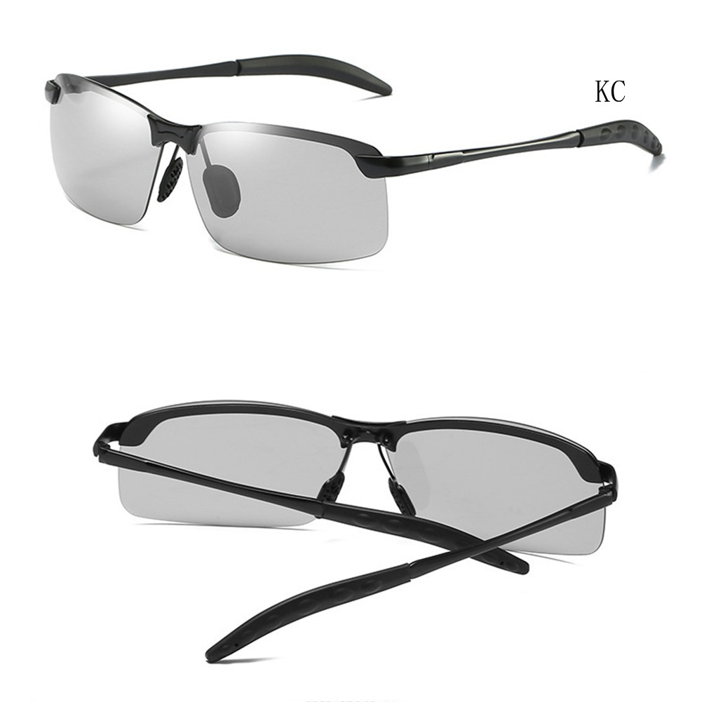 Polarized Photochromic Outdoor Sports Sunglasses Men Glasses Eyewear