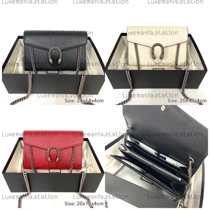 กระเป๋าสะพาย 👜: New!! Gucci Mini Dionysus WOC รับสีไหนแจ้ง