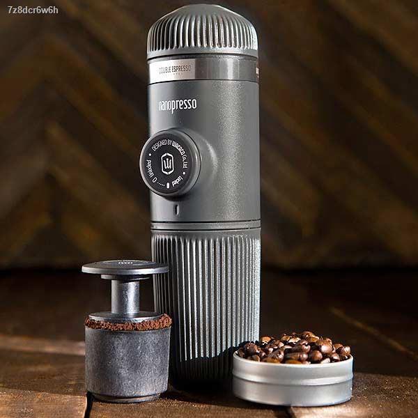 ♝✈Coffee Gotcha Wacaco Nanopresso Maker เครื่องชงกาแฟพกพา เครื่องทำกาแฟ พกพา สายแคมป์ แคมปิ้ง อุปกรณ์กาแฟ (ผ่อนไม่คิดเพ