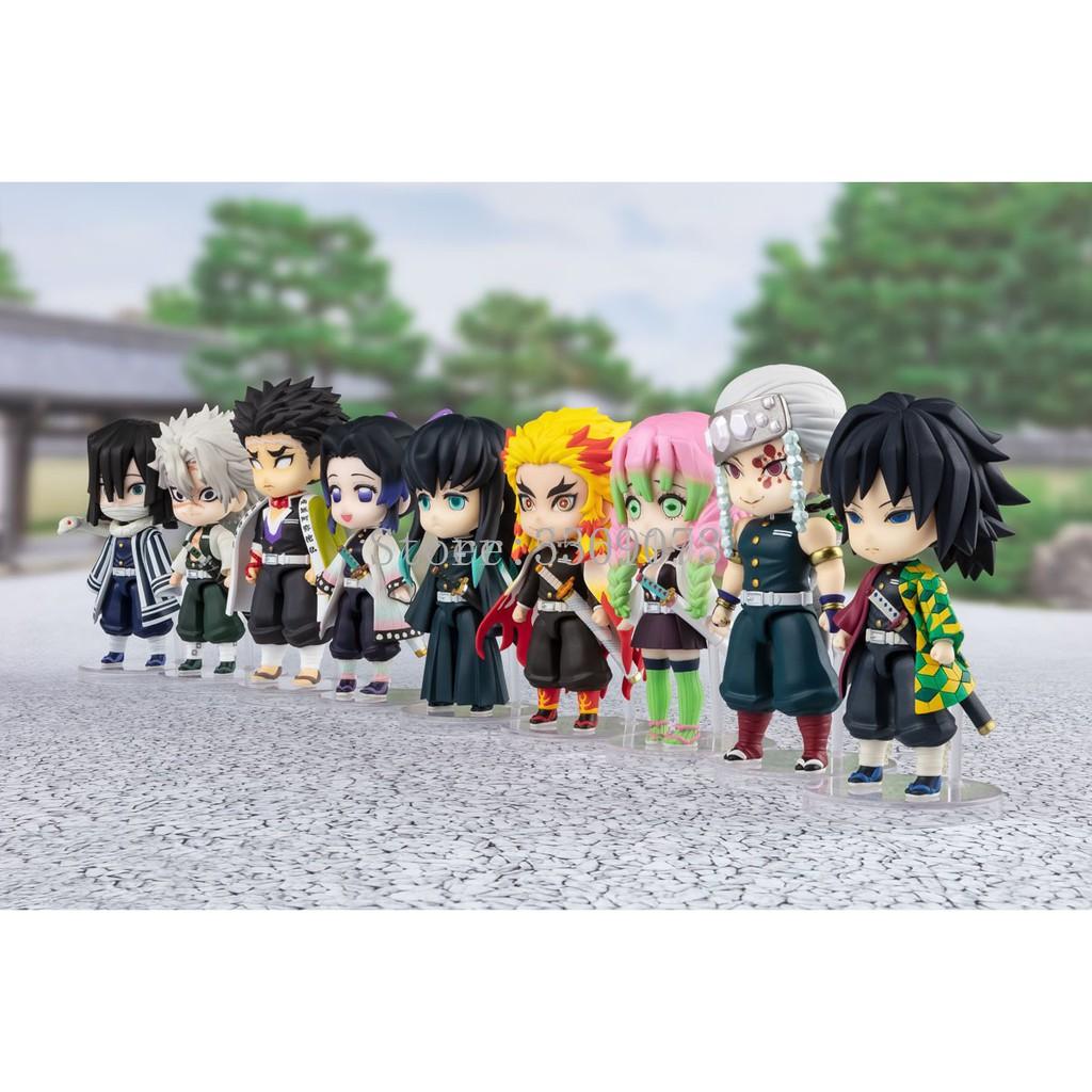 #ตุ๊กตาวันพีช  ลูฟี่ เซารอน นามิ ซันจิDemon Slayer Anime Figure Kochou Shinobu Rengoku Kyoujurou VC Action Figure Toys K