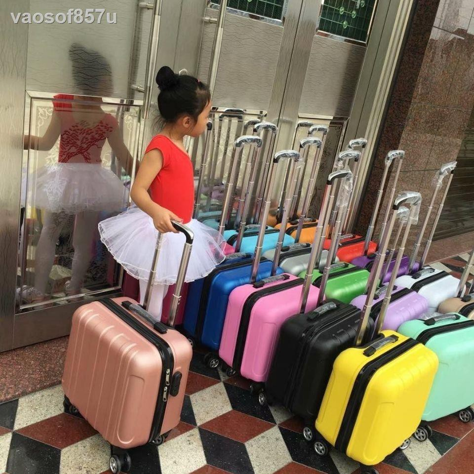 กระเป๋าเดินทางขนาดเล็ก 14 นิ้วเคสรถเข็นการ์ตูนมินิกระเป๋าเดินทางขนาดเล็กชายและหญิง 16 นิ้วกระเป๋าเดินทางเด็กเวอร์ชั่นเก