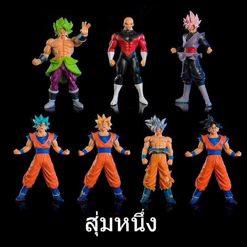 โมเดล Dragon Ball Super Saiyan Goku ของเล่นเด็ก
