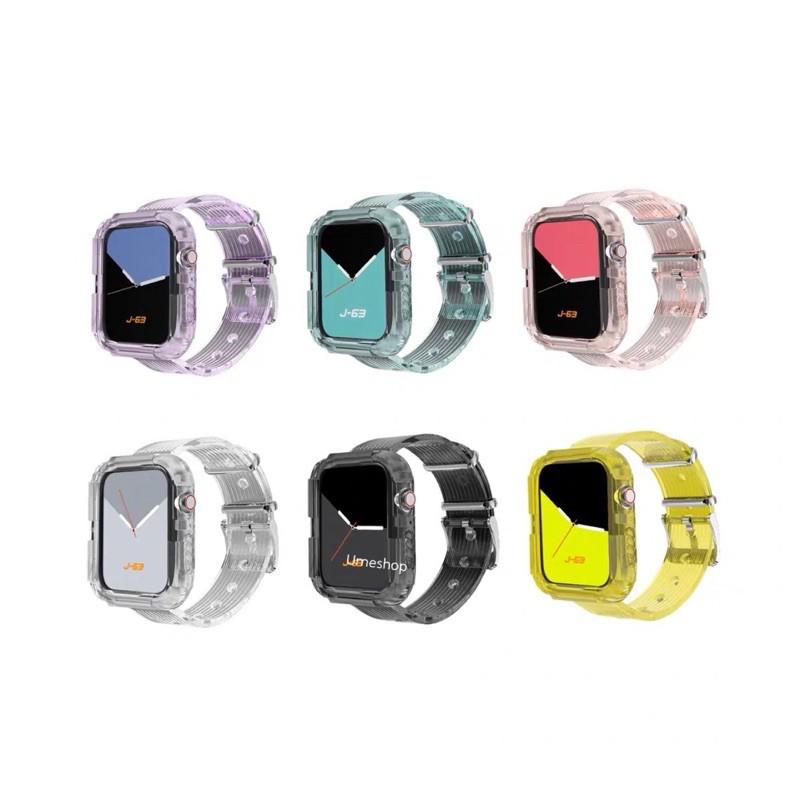 ✁พร้อมส่งจากไทย สายสำหรับ Applewatch สาย ice world Steel  ใส่ได้ทั้ง 6 series SE/6/5/4/3/2/1 ขนาด 38/40 & 42/44mm