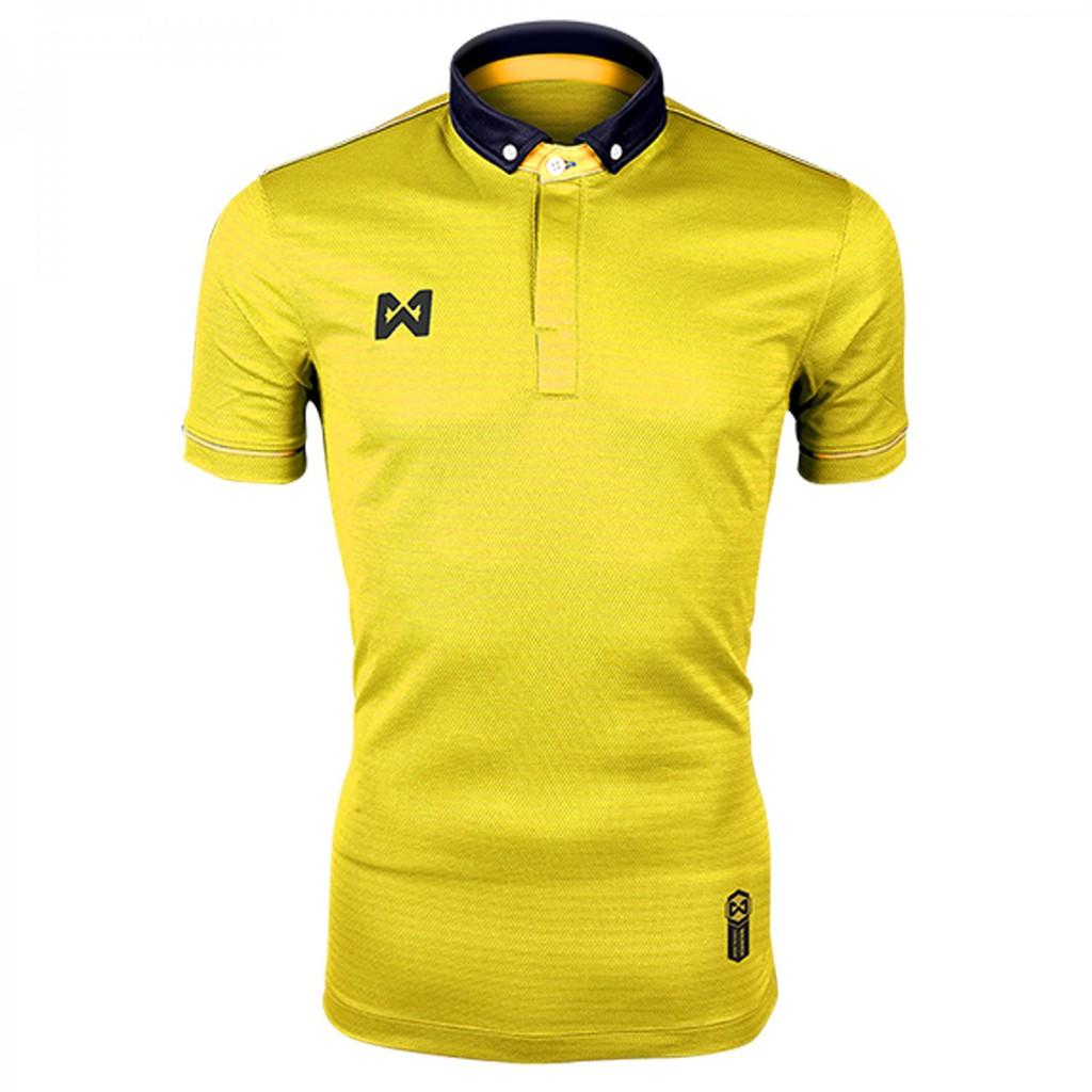 WARRIX เสื้อโปโล Azure WA-3316-YQ (สีเหลือง-ทอง)