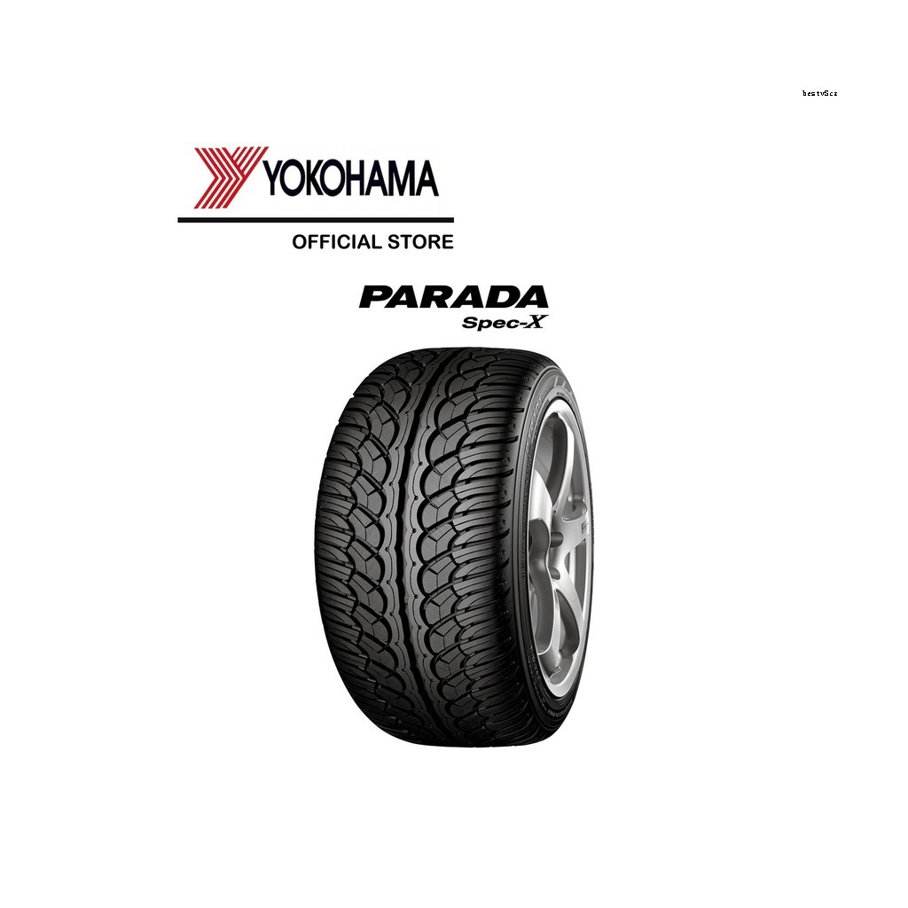 YOKOHAMA ยางรถยนต์ 265/50R20 รุ่น PARADA SPEC-X PA02  ปี20