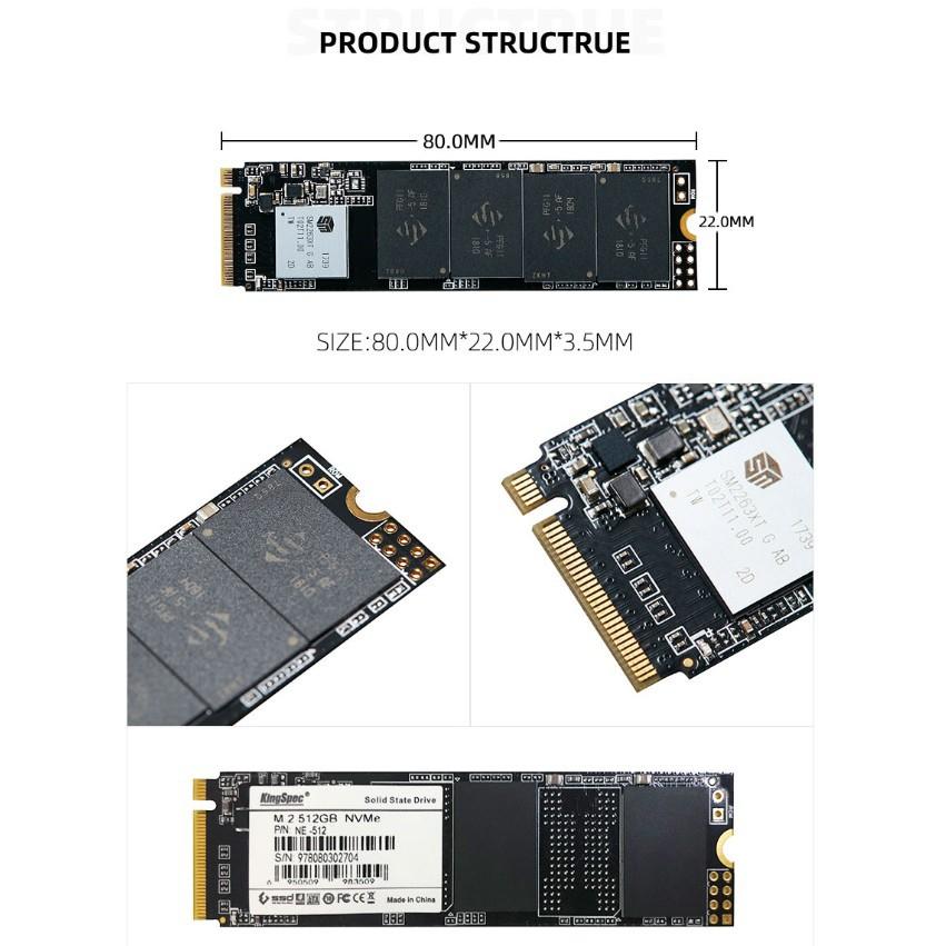 KingSpec M 2 ssd M2 240gb PCIe NVME 120GB 500GB 1TB Solid State