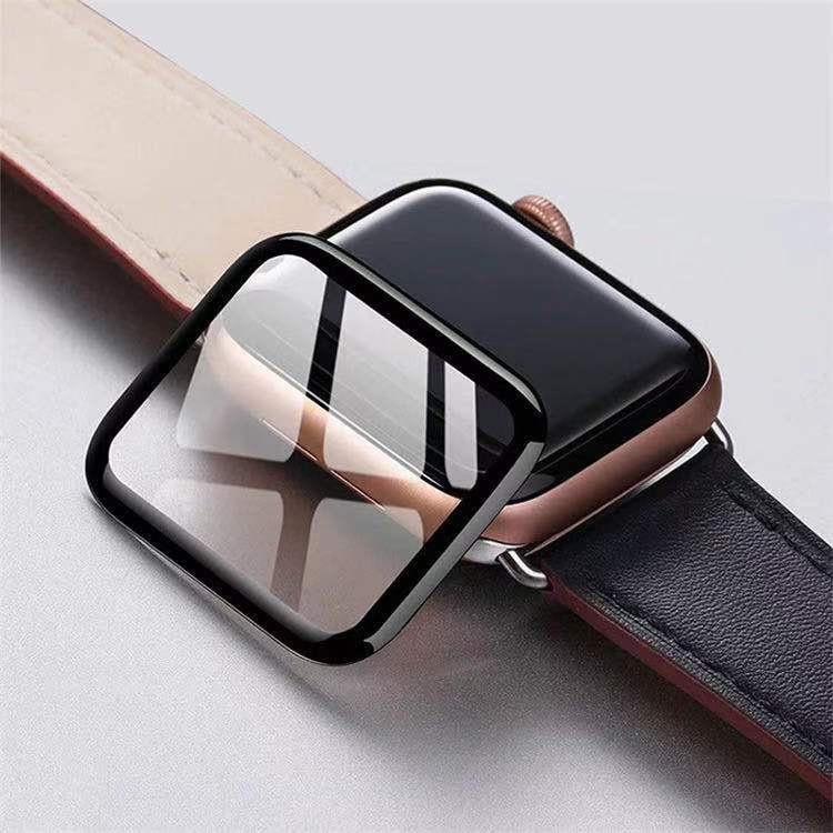 สาย applewatch applewatch series 6 🔥 ฟิล์ม TPU กันรอย ลงโค้งเต็มจอ ขอบนิ่ม  Apple watch series 1 2 3 4 5 6 และ se แบบ เ
