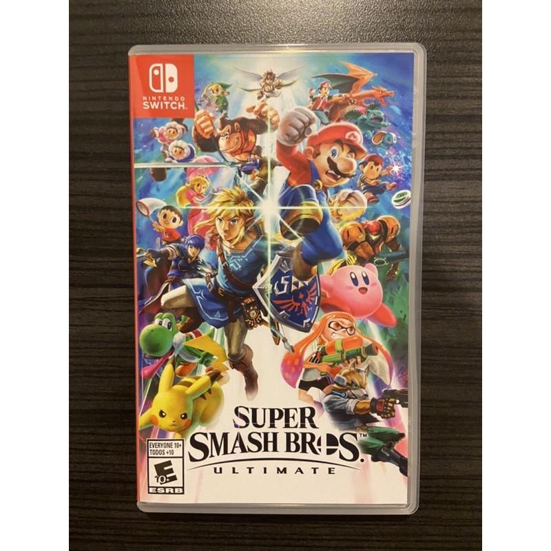 แผ่นเกมส์ Nintendoswitch มือสอง : SUPER SMASH BROS.