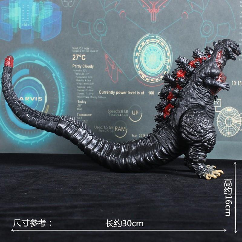 ☽№№Garage-Kit Action-Figure Large Dinosaur Bandai Godzilla Collectible-Model Movable Monster