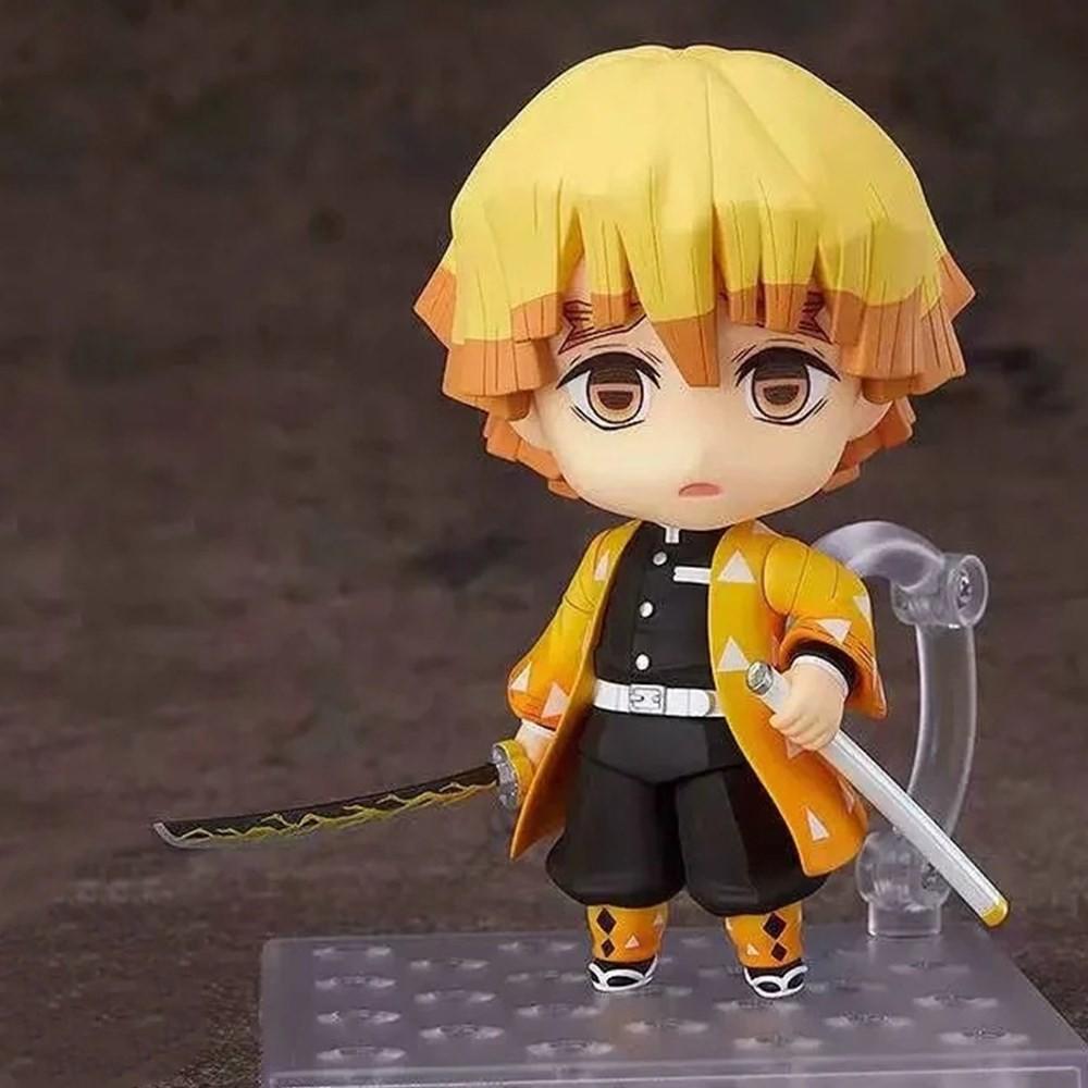 ∏LAISIO Model Toy Demon Slayer Anime #1334 Zenitsu Figurine Kimetsu no Yaiba Agatsuma Action Figure