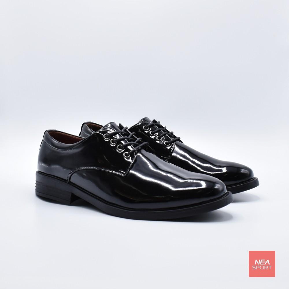 Baoji Lace Patent Leather 3467 รองเท้าหนังแก้ว คัชชู ผู้ชาย