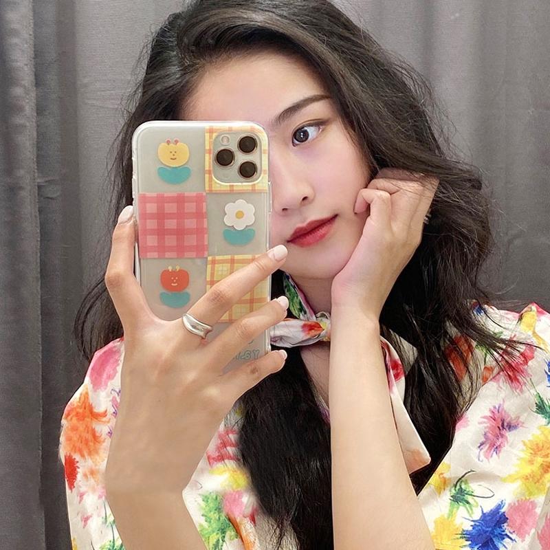 Korean style tulips soft case Samsung A8+ 2018/A8Plus 2018 A8 2018 A7 2018 A6+ 2018/A6Plus 2018 A6 2018 A9 2018 A7 2017/A720 A5 2017/A520 A3 2017/A320 J8 2018 J6 2018 J6Plus/J6+ J4 2018 J4Plus/J4+ J7Plus J7Pro/J7 2017 J7Prime J710/J7 2016 A71 A51