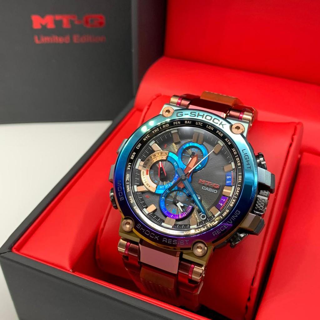 Casio G-Shock MTG-B1000VL-4A MTG-B1000VL-4 VOLCANIC LIGHTENING Premium Limited Edition