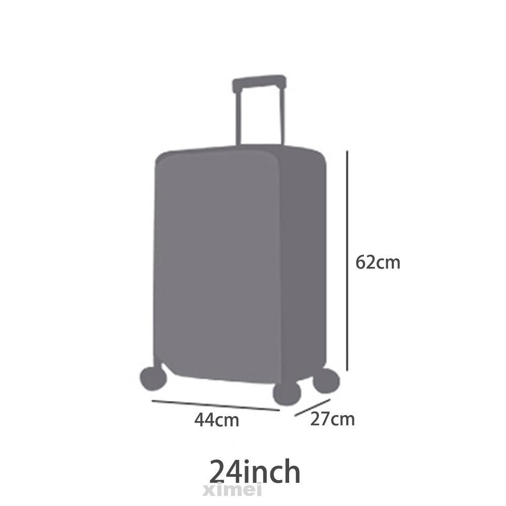 ผ้าคลุมกระเป๋าเดินทาง Pvc 20 ' ' 22 ' ' 24 ' 26 ' 28 นิ้ว