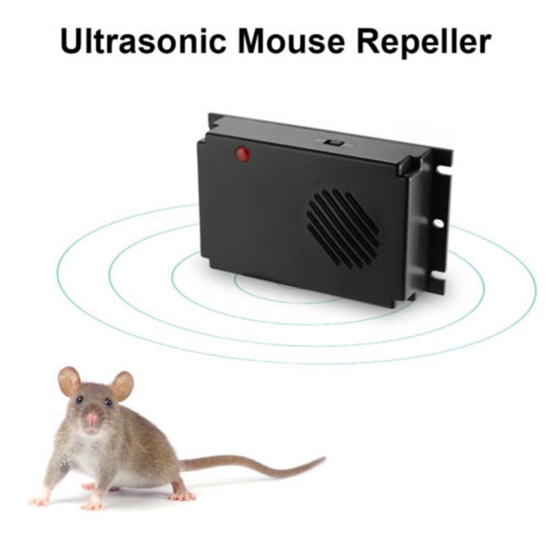 Ultrasonic Mouse Repeller Car Vehicle Rat Rodent Pest Animal Deterrent 12V