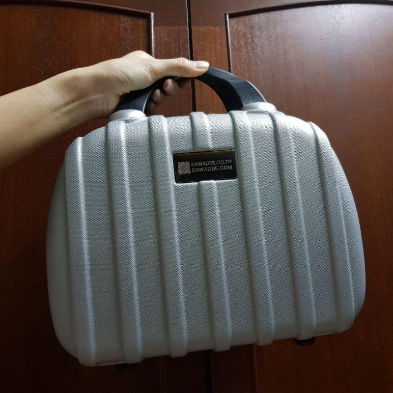 กระเป๋าเดินทาง กระเป๋าเดินทางใบเล็ก small hardcase bag กระเป๋าเดินทางแบบถือ กระเป๋าใส่เครื่องสำอาง ใส่ของจุกจิก