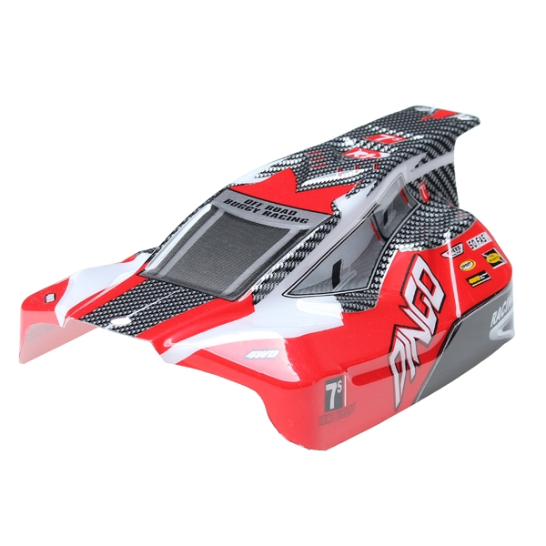 REMO Red Off-Road Buggy Body Shell Canopy D5602 1//16 Buggy RC Car Part