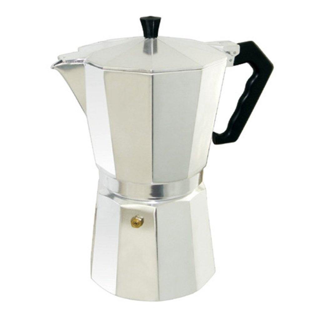 2020moka pot9 cupกาต้มกาแฟสดเครื่องชงกาแฟสด แบบพกพา ใช้ทำกาแฟสดทานได้ทุกที  คุณภาพดี