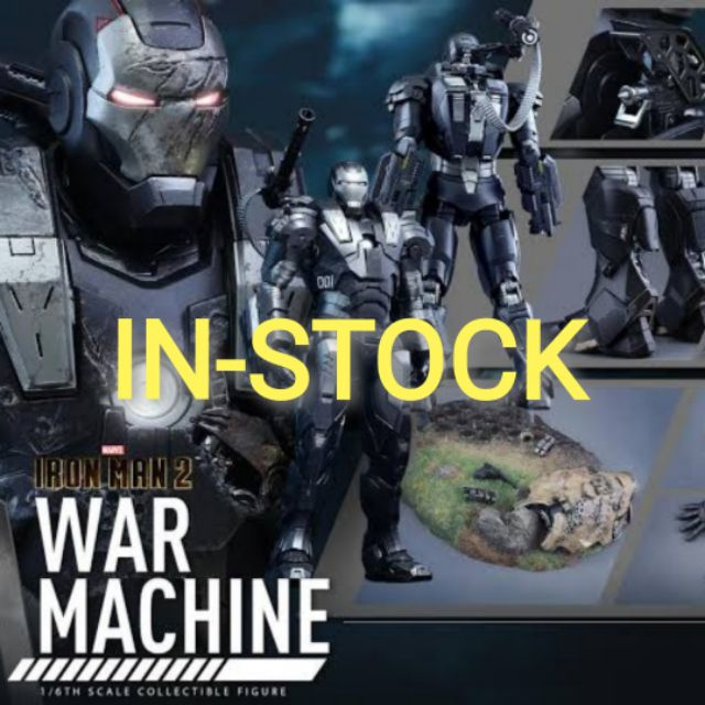HOT TOYS - WAR​ MACHINE​ MARK I [ DIE CAST ] : IRON MAN 2