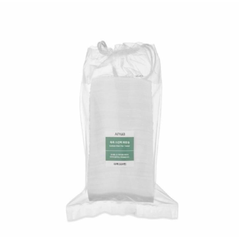 ฉลากไทย Anua cotton pad for toner 120 แผ่น