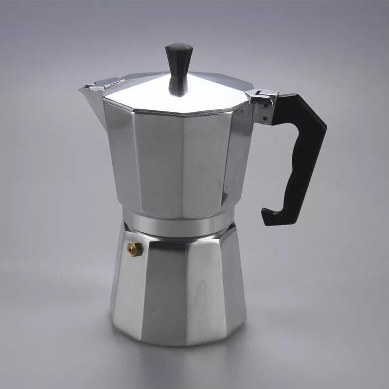 เครื่องชงกาแฟสด ใครยังไม่ลอง ถือว่าพลาดมาก !! กาต้มกาแฟสดเครื่องชงกาแฟสด Moka Pot แบบปิคนิคพกพา ใช้ทำกาแฟสดทานได้ทุกที ข