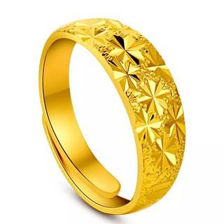 แหวนทอง คละลาย แหวนตัดลาย แหวนครึ่งสลึง ทองไมครอน ทองหุ้ม ทองชุบ ทองปลอม แหวนปรับได้ เสริมดวง