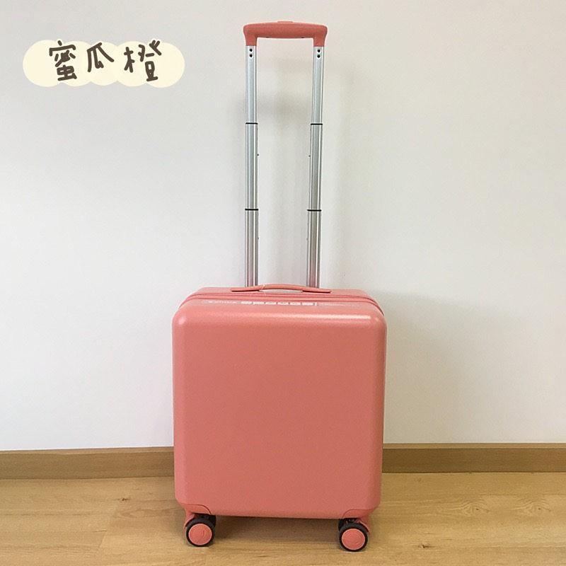 ของแท้VIHUSกระเป๋าเดินทางผู้หญิงใบเล็ก ปิดเสียงกันกระแทกล้อสากลนักศึกษาวิทยาลัยสีสูงน้ำหนักเบากระเป๋าเดินทาง18นิ้ว