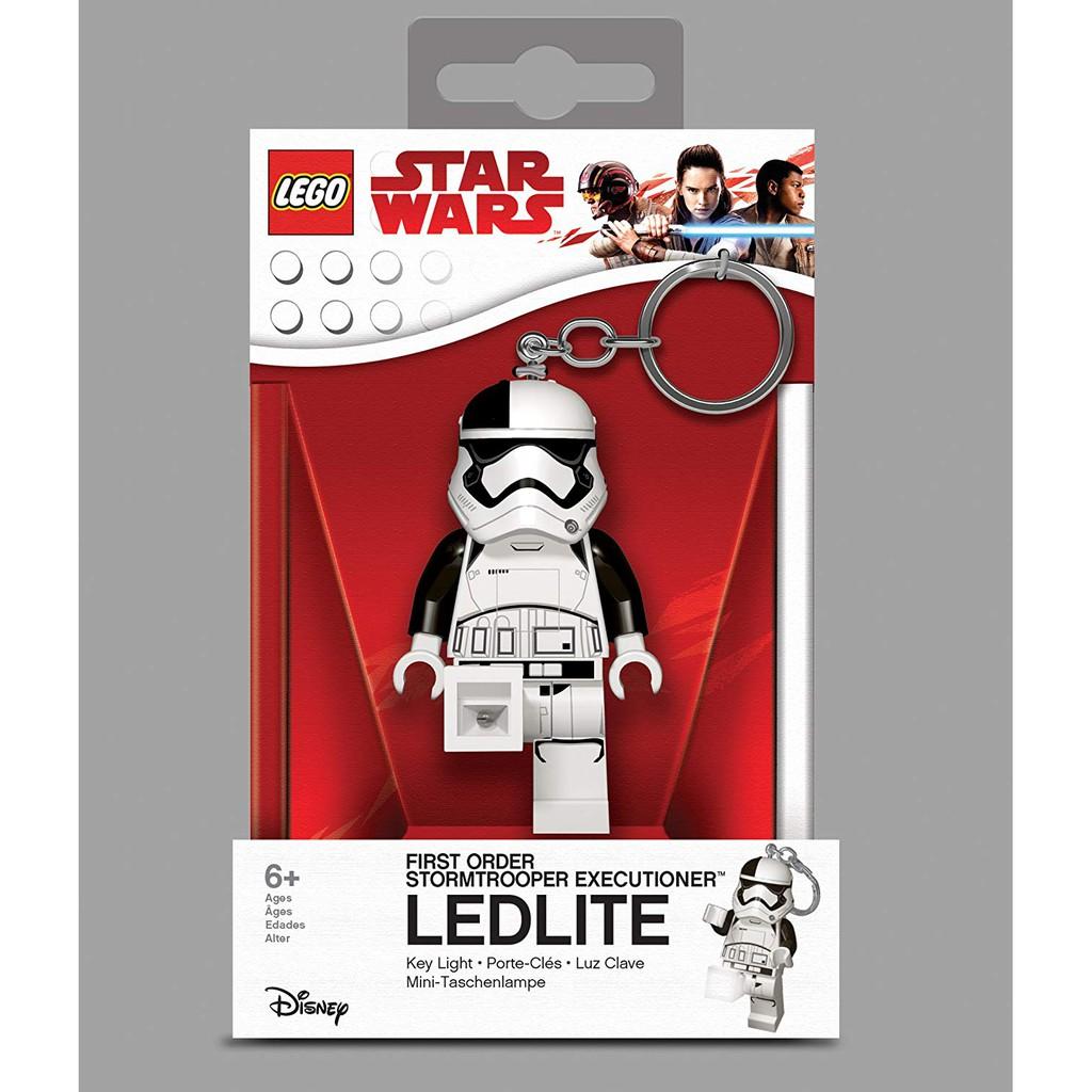 Lego Star Wars The Last Jedi  First Order Stormtrooper Executioner LED Key Light