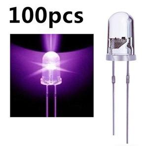 1000P X  3mm White Round top LED Light lamp  led White