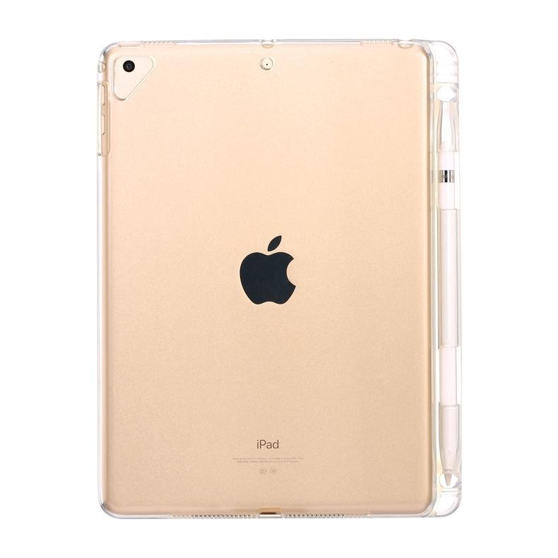 Ipad mini 1 2 3 4 5 air1 air 2 air 3 10.5 pro 9.7 10.5 11 12.9 inch soft TPU case with Apple pencil slot for ipad 234