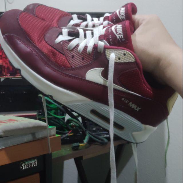 NikeAirmax90 size44 แดงขาว มือสอง