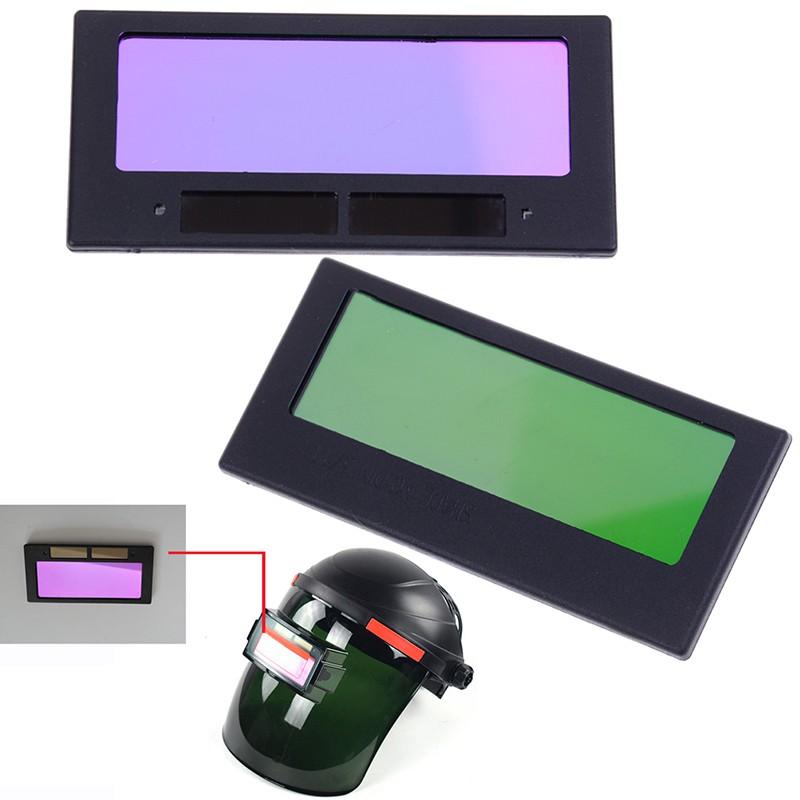 "Automatic arrival solar darkening welding helmet lens filter shade 4-1//4/"" x ZY"