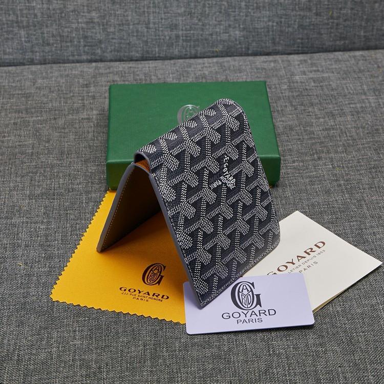 ✤☸2019 new Goyard wallet Goya with leather short half fold men s one drop shipping