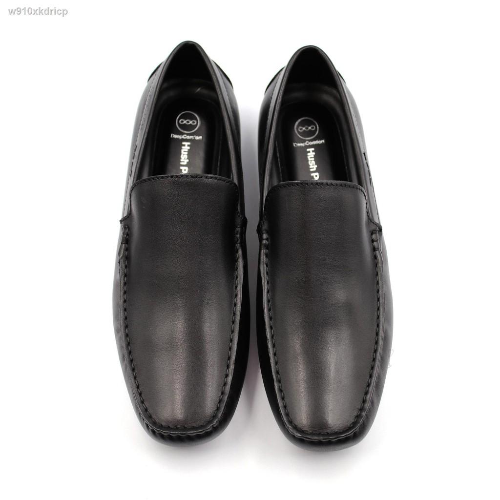 🔥มีของพร้อมส่ง🔥ลดราคา🔥❁✌HUSH PUPPIES รองเท้าคัชชูผู้ชาย รุ่น HP THCFB46B8A สีดำ