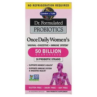 Garden of Life, Dr. Formulated Probiotics, Once Daily Women's