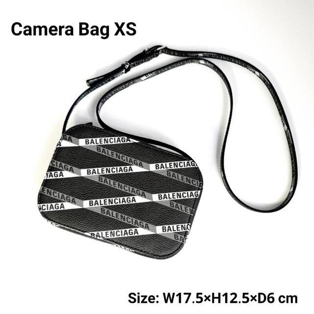 กระเป๋าแบรนด์เนม #กระเป๋าหิ้วแท้จริงแท้Balenciaga camera xs พร้อมส่ง ของแท้【การจัดซื้อ】ของแท้