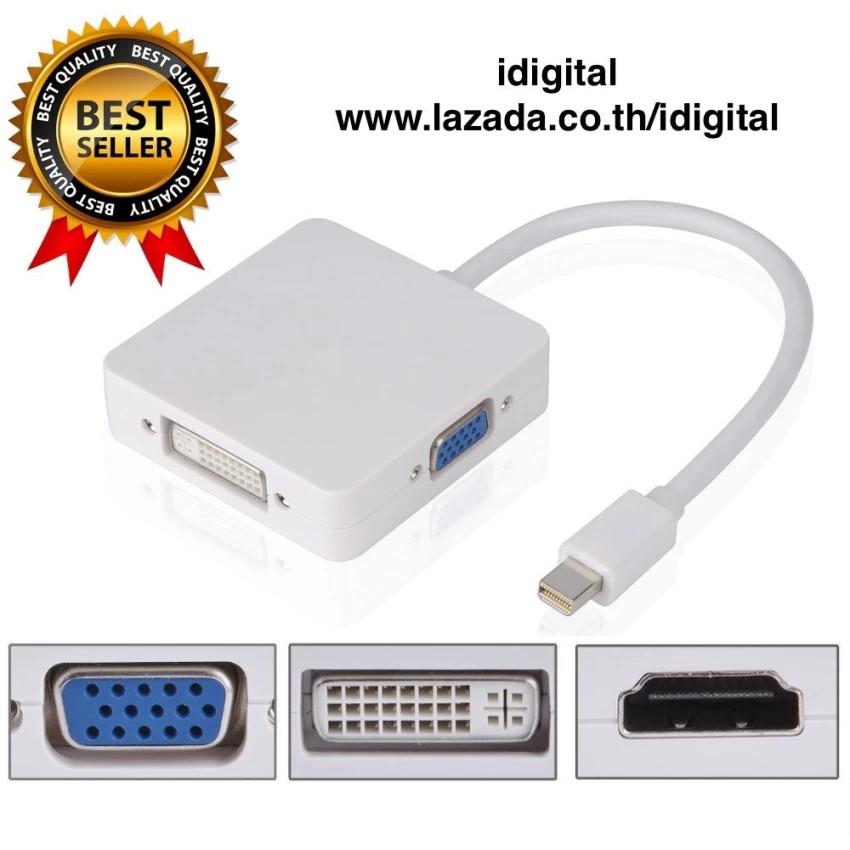 MacBook Air MacBook Pro Mini Display Port to DVI Adapter for Apple Mac