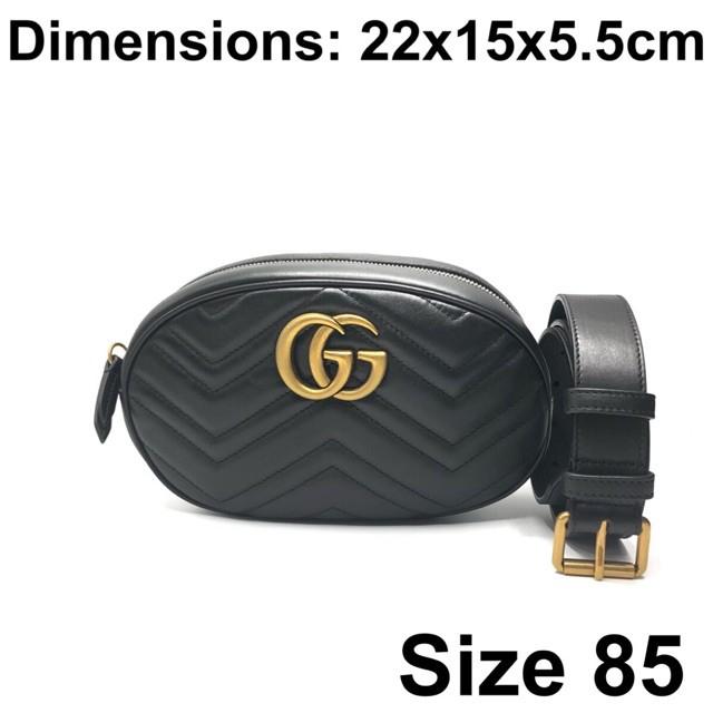 ต้นฉบับ 100%Gucci belt bag